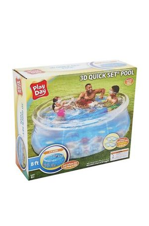 3D quickset 8 ft swimming pool for Sale in Grove City, OH