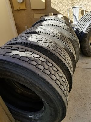 295/75r22.5 tires for Sale in Bakersfield, CA