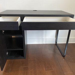 "Computer Desk w/ Drawers - Black - 41""L x 19-1/2""D x 29-1/2""H for Sale in Kearny, NJ"