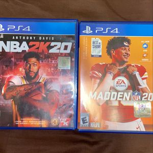 Madden & 2k20 for Sale in Baltimore, MD