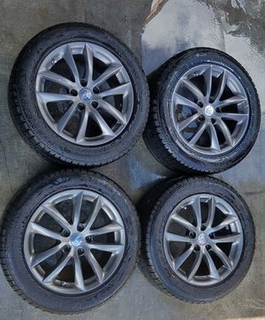 """INFINITI G35 17""""inch OEM WHEELS RIMS WITH TIRES (SET OF 4) for Sale in Fort Lauderdale, FL"""