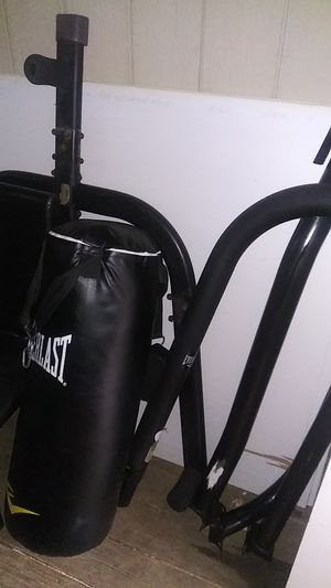 Everlats punching bag and stund for Sale in Vallejo, CA