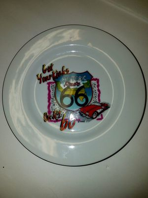 Vintage route 66 collector plate for Sale in East Wenatchee, WA
