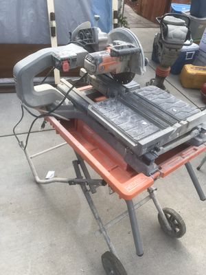 Table saw 10 inches blade for Sale in San Jose, CA