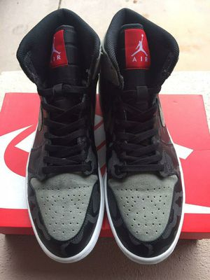 "Air Jordan 1 Retro High Premium "" Shadow Camo"" for Sale in San Tan Valley, AZ"
