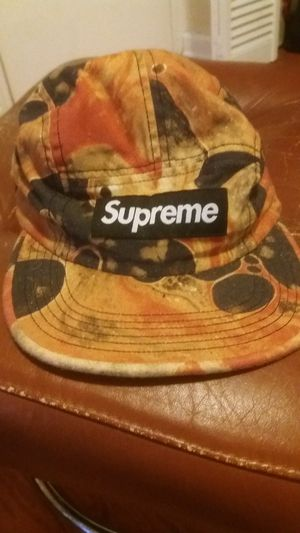 """Supreme 5 panel """"Blood & Semen"""" hat for Sale in Chattanooga, TN"""