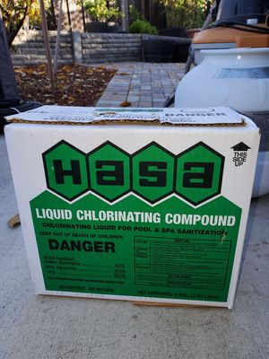 Liquid Chlorinating Compound for Sale in San Jose, CA