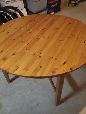 Solid wood kitchen table for Sale in Falls Church, VA