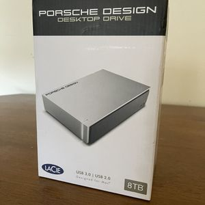 LaCie Porsche Design 8TB USB 3.0 Desktop Hard Drive for Sale in Los Angeles, CA