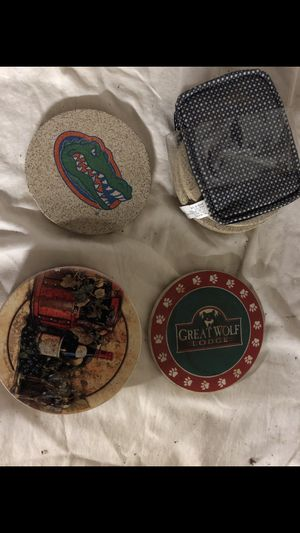 Different coasters - $3 each, $7 for all for Sale in Franklin Township, NJ
