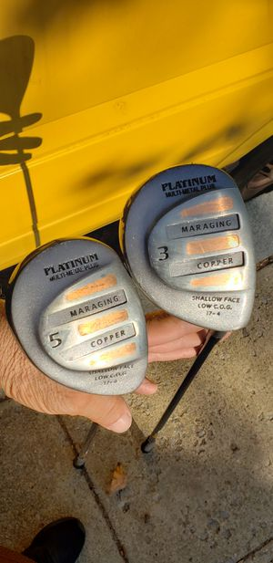 3 and 5 Woods - Golf Clubs for Sale in Washington, DC