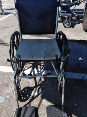 Wheelchair, toilet, shower adult size , aluminum frame for Sale in San Bernardino, CA