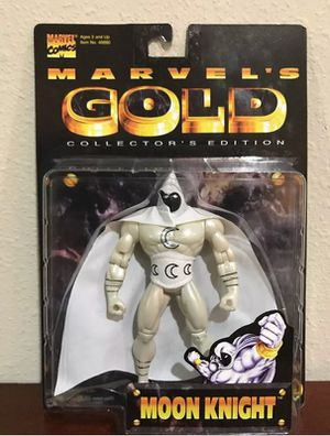 """Moon Knight 5""""Inch Marvels Gold Collectible toy for Sale in Thonotosassa, FL"""