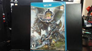 Monster Hunter 3 Ultimate - Nintendo Wii U for Sale in Lake Elsinore, CA