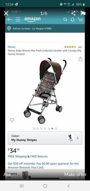 Disney Baby Winnie-The-Pool Umbrella Stroller Canopy for Sale in Nashville, TN