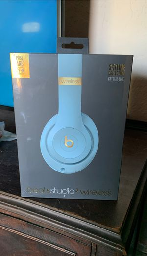 Beats Studio 3 Wireless Crystal Blue for Sale in Concord, CA