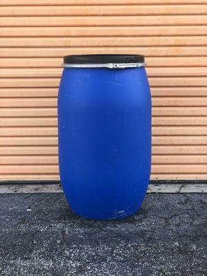 60 gallon lock rim open top drum for Sale in Miami, FL