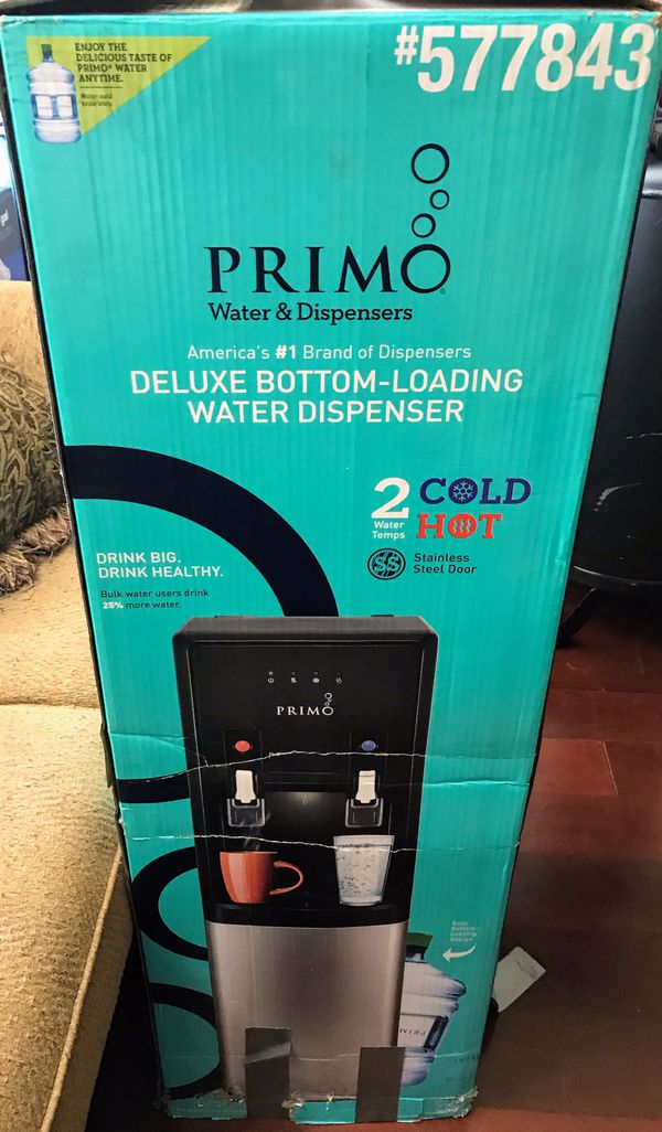 Stainless steel Primo-Hot/Cold water dispenser $150 New