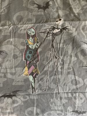 Licensed Disney Nightmare Before Christmas FULL SIZE Sheets for Sale in Long Beach, CA