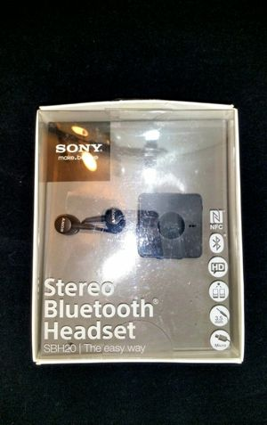 Sony bluetooth earbuds sbh20 for Sale in Miami, FL