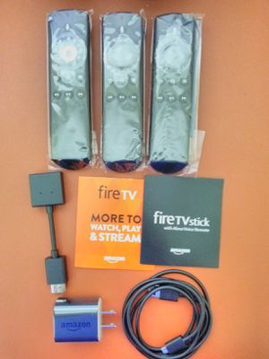 FireTV Accessories Power Adapters, Remote Controls, HDMI Extenders for HD & 4K etc... for Sale in Miami, FL