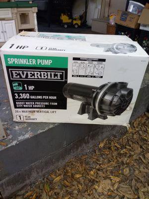 Brand new sprinkler pump for Sale in St. Petersburg, FL