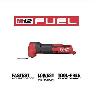 Milwaukee M12 FUEL 12-Volt Lithium-Ion Cordless Oscillating Multi-Tool (Tool-Only) for Sale in Ceres, CA