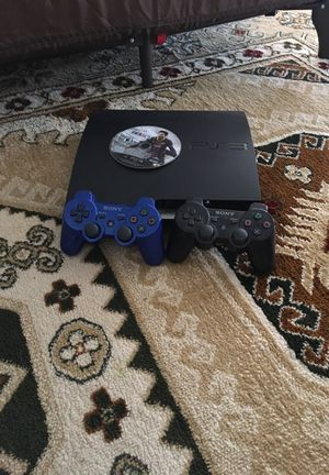 PS3 slim will include 4 games 2 controllers for Sale in Lake Stevens, WA