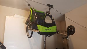 Double baby bike trailer for Sale in Grand Prairie, TX