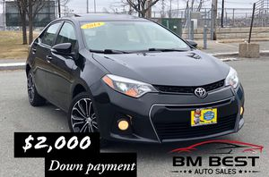 2014 TOYOTA COROLLA SPORT for Sale in Beverly, MA