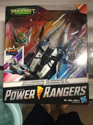 Brand new Power Rangers Beast Morphers Beast Jet Converting Zord Toy Action Figure for Sale in Ramona, CA