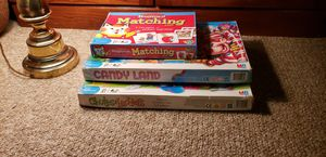 Three Classic Children Board Games for Sale in Albuquerque, NM