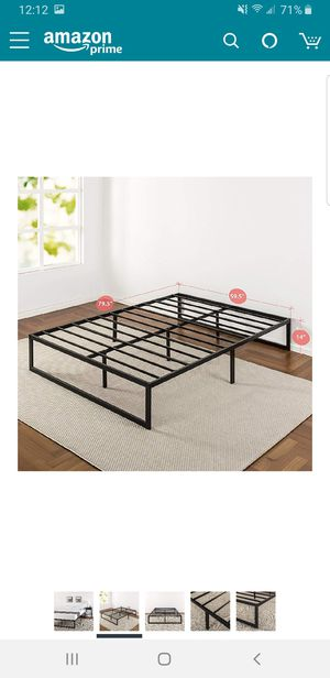 Queen size 14 inch platform bed frame.. BRAND NEW..can deliver for Sale in Euclid, OH