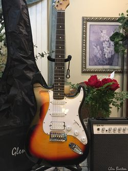 Glenn Burton Electric Guitar Package for Sale in Lynwood,  CA