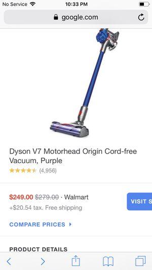 Dyson v7 Motorhead origin cord free for Sale in Spring, TX