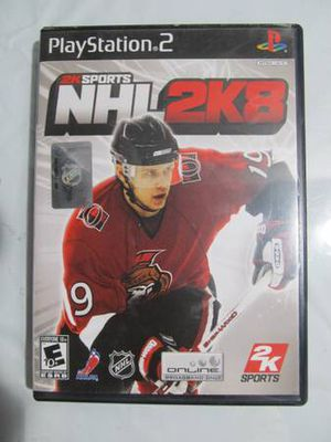 NHL 2K8 (Sony PlayStation 2, 2007) PS2 Complete for Sale in Los Angeles, CA