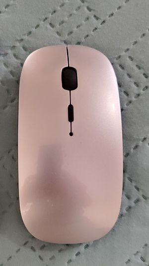 Rechargeable Wireless Mouse, 2.4GHz Slim Silent Click, Long Range for Laptop & PC, Compatible with Mac, MacBook Pro & MacBook Air etc. for Sale in San Diego, CA