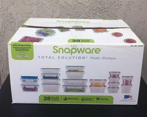 Snapware 38-piece Plastic Food Storage Set for Sale in Costa Mesa, CA