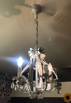 White chandelier for Sale in Chandler, AZ