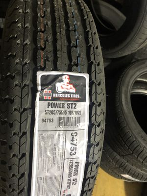 BRAND NEW ST 205 75 15 tires for only $90 each with FREE INSTALL!!! for Sale in Tacoma, WA