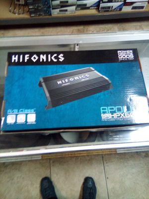 Hifonics hpx600.4 for Sale in Las Vegas, NV
