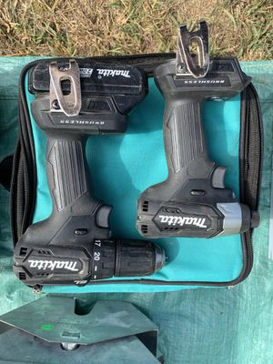 Makita Brushless impact & driver drill combo for Sale in Montvale, VA