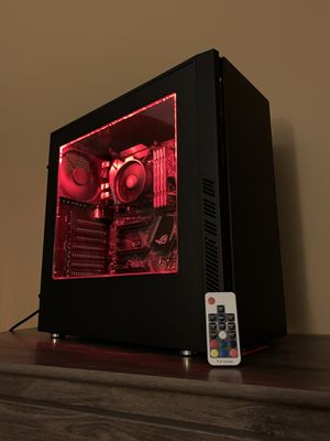 RGB Gaming Pc Computer (fortnite, csgo, r6s, etc.) for Sale in Concord, NH