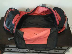 Travel bag wheels dolly handle camping backpack nice!!! for Sale in Coconut Creek, FL