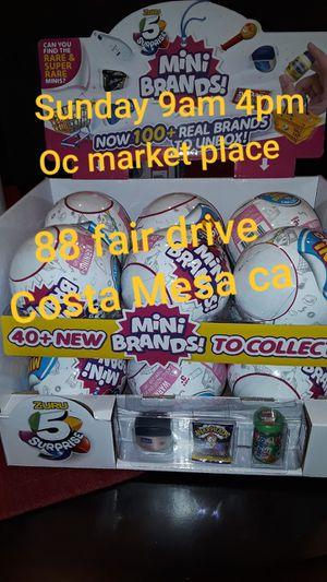 MINI BRANDS balls funko pops nightmare before Christmas for Sale in Orange, CA