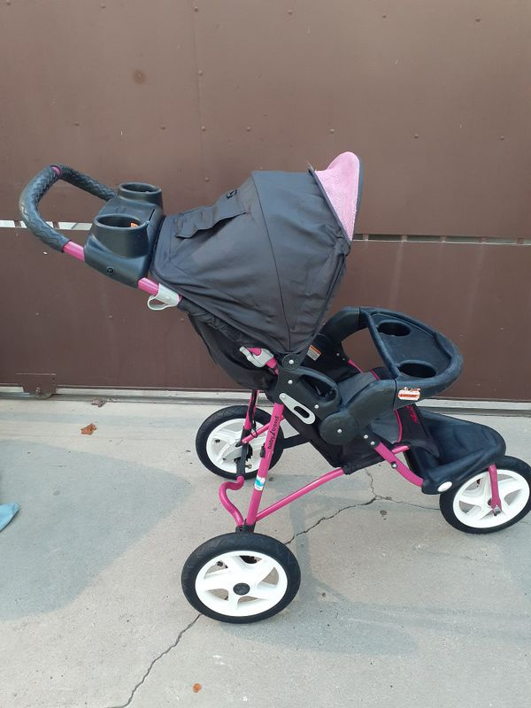 BABY TREND HELLO KITTY 3 WHEELS STROLLER