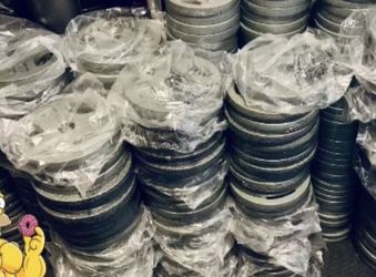 """1"""" Standard Weight Plates $1.50 per Pound for Sale in Fort Lauderdale,  FL"""