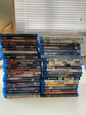 Blu-rays (6 dollars each)-pick up Alamo Square for Sale in San Francisco, CA