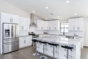White shaker kitchen cabinets for a 10x10 kitchen for Sale in Worcester, MA