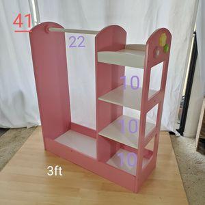 Girls Pink Closet Organizer for Sale in Rancho Santa Margarita, CA